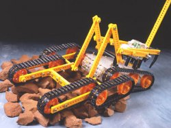 Remote Control Rescue Crawler
