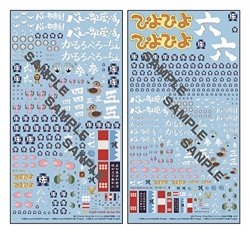 GD08 MG Decal Girls und Panzer Oarai Girls High School 2 Sheets