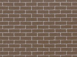 87168 Diorama Material Sheet - Brickwork