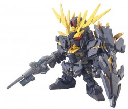 BB380 2 Banshee Super Deformed Gundam Unicorn Action Figure