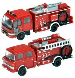 The Truck Collection Fire Pump Car with Water