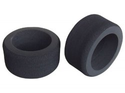 FO401H F104 Rubber Hard Front Tires (2pcs)