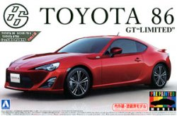 TOYOTA 86`12 Lightning Red Pre-Painted 1/24