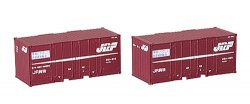 J.R. Container Type 30A 9t Container 2pcs. Wi