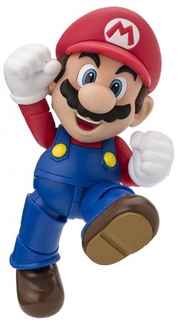 S.H.Figuarts Mario (New Package Ver.)