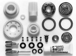 Tamiya RC TA03 Ball Differential Set