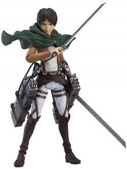 Attack on Titan: Eren Yeager Figma Action Fig
