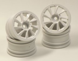 SPA-261 mini L Type White Wheel Offset 0 (4 p