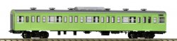 J.N.R. Type SAHA103 Coach (Air-conditioned Original Style/Green)
