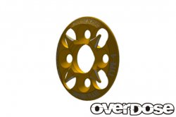 OD1657 Spur Gear Support Plate Type 4 (Gold)