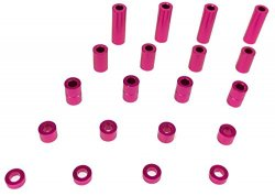 SGE-51PK Aluminum Spacer Set Pink