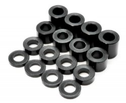 0036-45 Spacers 2.6mm in dia Duracon (1/2/4/6mm) 2pc