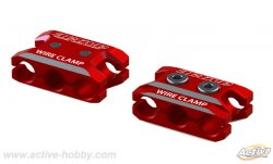 STR264R Aluminum Wire Clamp (Red / 1pcs)