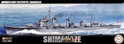 IJN Destroyer Shimakaze (Early Version) w/ Pa