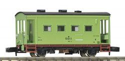 J.N.R. Guard`s Van Type YO5000 (Light Green N