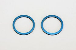 Aluminum Diff Joint Ring (Blue/2pcs)