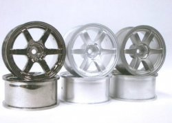 SPA-738 VOLK Racing TE37 26mm Offset 8 Matte Silver 2pcs