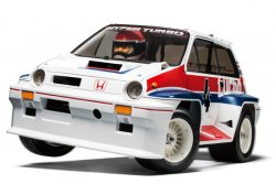 58611 Honda CITY TURBO : WR-02C CHASSIS