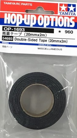 54693 Double-Sided Tape - 20mm x 2m