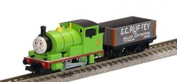 Percy Train Set `Thomas the Tank Engine` Seri