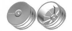 51581 Buggy Rear Dish Wheels - Hex Hub