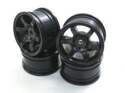 PMW-AK Panaracer PR Mini Spoke Wheels (Black / 4pcs)