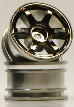 SPA-318 mini VOLK Racing TE37 Bronze Black 2p
