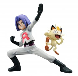 G.E.M. Series Pokemon James & Meowth