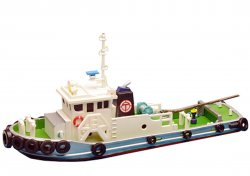 Visual Scene Accessory 117 Diesel Tug Boat