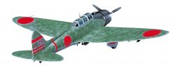 Aichi D3A1 Type 99 Carrier Dive Bomber (Val) Model 11 Midway Isl