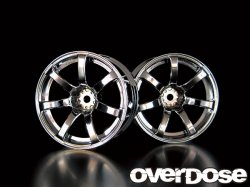 OD1191 WORK EMOTION XT7 (MATTE CHROME / OFF +7)
