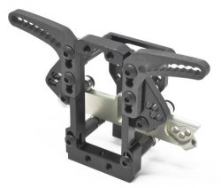 0467-FD VX-Dock Slide Steering System Angle UP (Blac