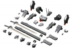 FA096 Extend Arms 01 Extend Parts Set for RF-