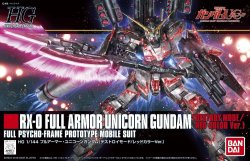 HGUC 199 FULL ARMOR UNICORN GUNDAM DESTROY MODE