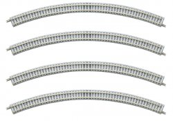 1196 Fine Track Curved PC Tracks C354-45-PC (