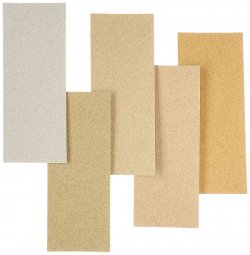 24-016 Scene Paper Gravel, 5 Color, Each 1pcs