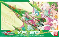 YF-29 Durandal Valkyrie Fighter Mode Ranka Marking Ver.