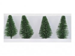 Trees Miscellaneous Small Trees Set of 4
