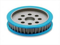 STA-336 Aluminum differential pulley 36T (blu