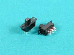 6P Slide Switch - 2pcs