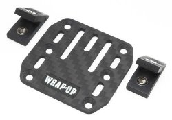 0458-FD Carbon ESC Plate / Slash Mount Set