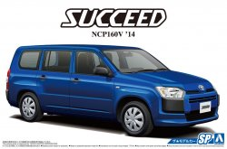 1/24 Toyota NCP160V Succeed `14