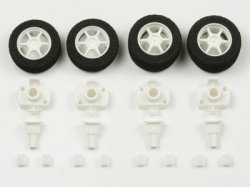 JR Narrow One-Way Wheel Set - Wide Tread