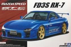 1/24 Mazdaspeed FD3S RX-7 A Spec GT Concept `