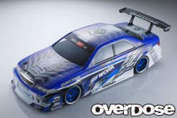 OD2370 Toyota JZX100 Mark II Clear Body & Wel