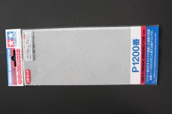 87058 Finishing Abrasives P1200 - 3 Sheets