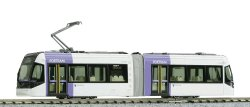14-801-2 Toyama Light Rail TLR0607 Purple