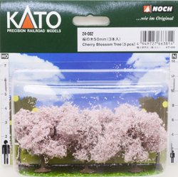 24-082 Cherry Blossom Trees (50mm) 3pcs