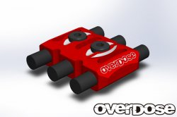OD1923 Wire Clamp Red