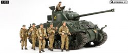 25174 British Tank Sherman VC - Firefly (with